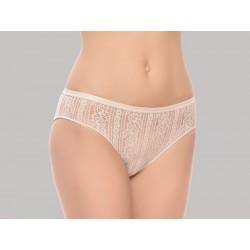 Braga Bikini Blonda Cintura Ancha Invisible 100% Poliamida