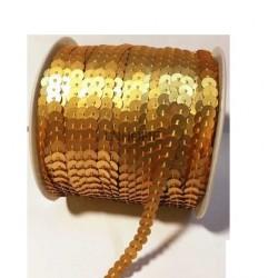Lentejuelas de Cubeta en tira para coser (Rollos de 50 m)