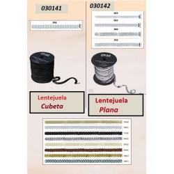 Lentejuela Plana en tira para coser de 6 mm (Rollos de 50 m)