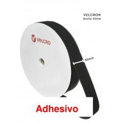 Velcro Adhesivo  ancho 50 m/m  ( 25 m)