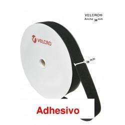 Velcro Adhesivo  ancho 38 m/m  ( 25 m)