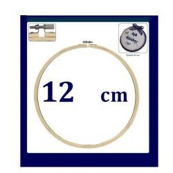 Bastidor para bordar con tornillo de 12 cm