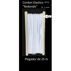 Cordon elasticos redondo de 2 m/m