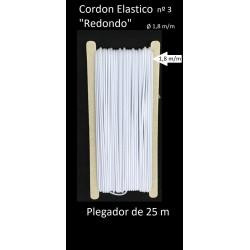 Cordon elasticos redondo de 1,8 m/m