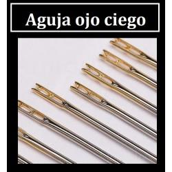 Agujas ojo ciego (6 agujas)