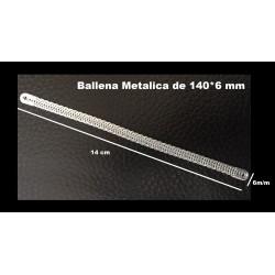 Ballena Metálica de Espiral de Acero 140mmx6mm