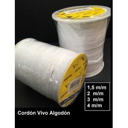 Cordón Algodón 1,5 mm